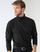 Roll-Neck Long-Sleeve Top